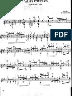 Poetical Waltz - guitar composition