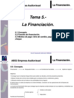 Tema 5 La Financiacion AB52 1