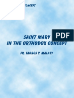 Saint Mary in the Orthodox Concept