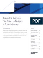 Expanding Overseas White Paper