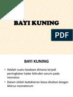 BAYI KUNING