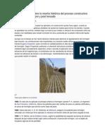 Investigue sobre la reseña histórica del proceso constructivo del concreto pre y post tensado