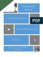 Homeowner Manual