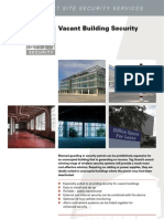 Specialist Site Security Services for Vacant Buildings