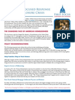 Foreclosures and Children 2012 Policy Recommendations