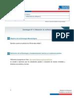 Estrategía nº 4 Uso de software