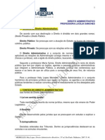 Analista Tecnico Direito Administrativo