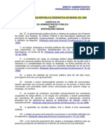 Analista Tecnico Direito Administrativo Leis