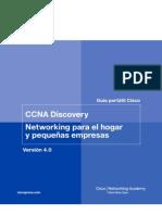 CCNA Discovery networking para el hogar y pequeñas empresas
