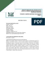 Caso Clinico de Laringotraqueitis