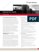 Nlyte 7 Suite - Product Brief-Rev