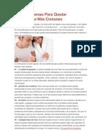 Los 7 Problemas Para Quedar Embarazada Más Comunes