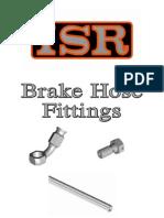 ISR Brake Hose Fittings