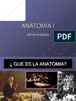Clase 1 Anatomia Generalidades