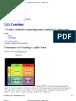 Ferramentas de Coaching – Análise Swot « Life Coaching