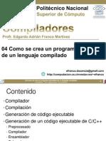 Programa Ejecutable de Un Lenguaje Compilado