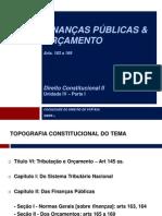 DIR-CONSTITUC-II-Unid-IV-Parte-I-Finanças+&+Orçamento
