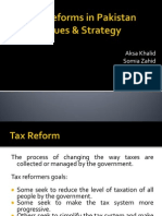 Tax Reforms in Pakistan