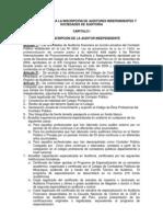 Reglamento de Auditoria