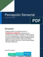 Percepción Sensorial