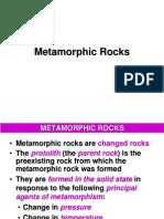 Modul 8 - Metamorphic Rocks