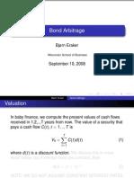 Bond Arbitrage