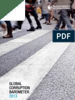 2013 Global Corruption Barometer