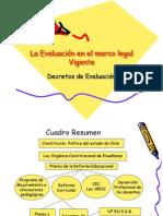 La Evaluación en el marco legal Vigente