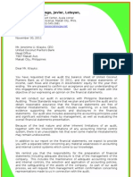 13 125 Engagement Letter Internal Audit | Confidentiality | Internal