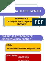 Is - Modulo No 1 - Ingenieria de Software (27!05!13)