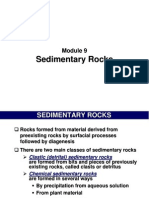 Modul 9 - Sedimentary Rocks