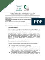 Compte-Rendu Commission Locale 03.07.2013