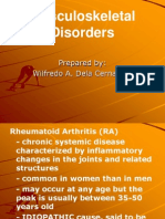 95801587 Musculoskeletal Disorders