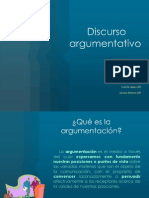Discurso Argumentativo power point