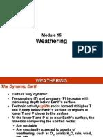 Modul 15 - Weathering