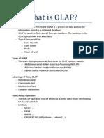 Week 4 - What is Olap