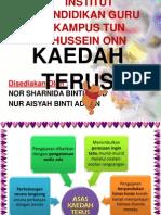 KAEDAH TERUS
