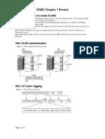 ICND2-Chapter1 Key Ideas