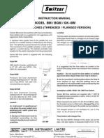 Instruction Manual b Mb Gm