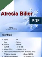 Atresia Bilier
