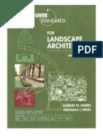 Time-Saver Standards for Landscape Architecture