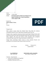 Contoh Proposal Bantuan Hibah
