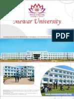Mewaruniversity Ph d