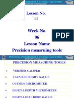 11-Precision Measuring Tools