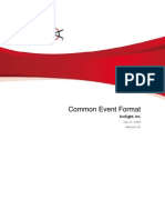Common Event Format White Paper 071709_ArcSight_July_17_2009