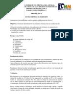 Práctica #1 - Instrumentos de medición