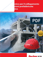 Manuale tecnico fischer per il collegamento delle costruzioni prefabbricate in zona sismica.