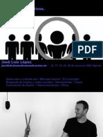 Curso Marketing - Curriculums creativos, mejora tu presentación - José Luis López
