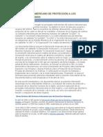 Sistema Interamericano de protección a los derechos humanos