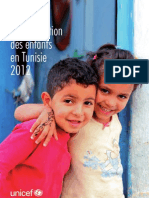 Analyse de la situation des enfants en Tunisie 2012